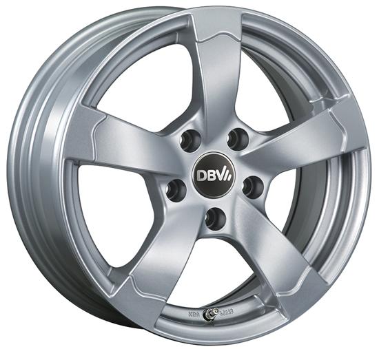 DBV Torino 2 Felgen metallic silber DBV Torino 2 Felgen metallic silber