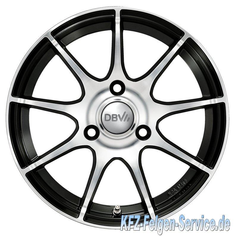 S-Bali schwarz frontal DBV Alufelgen