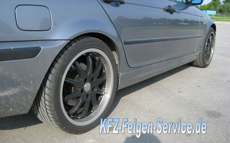 alufelgen dbv s australia 3er bmw 4 BMW 3er mit DBV S Australia 18 Zoll Alu Felgen
