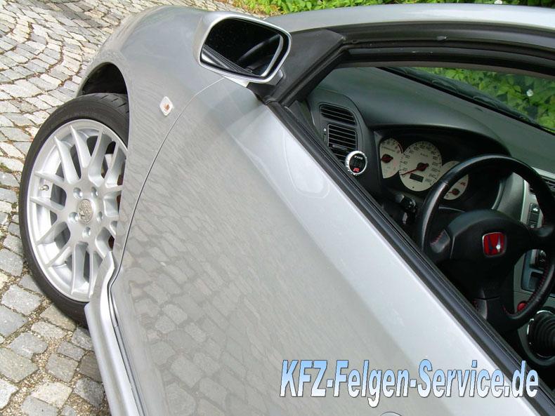 honda felgen dbv arizona mit abe 8 DBV Arizona 17 Zoll auf Honda Civic Type R