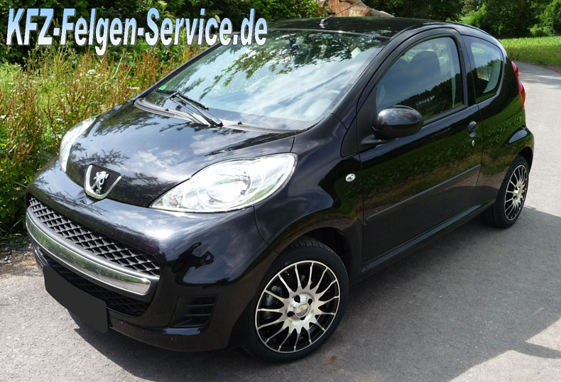 s florida 15 zoll peugeot 107 DBV S Florida 15 Zoll auf Peugeot 107