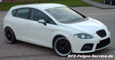 seat leon mit dbv s australia 19 zoll alufelgen kfz. Black Bedroom Furniture Sets. Home Design Ideas